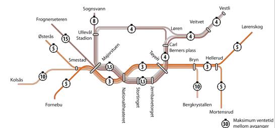 bilde av tbanekart