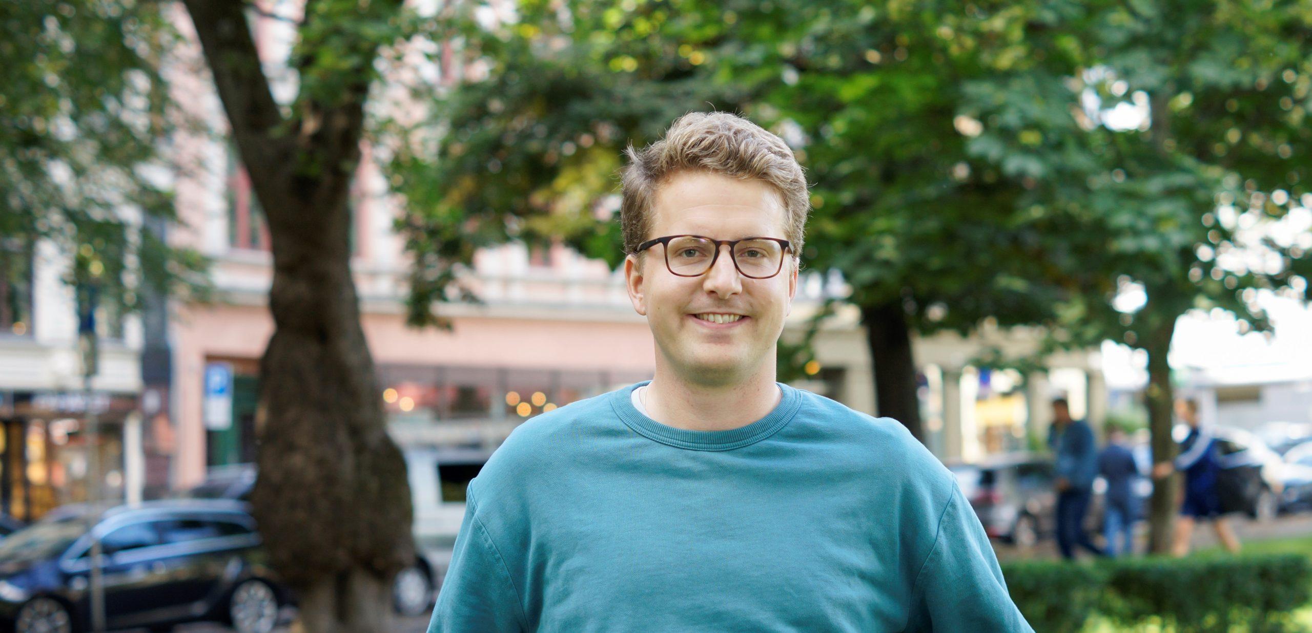 Bilde av Geir Storli Jensen på Olaf Ryes plass